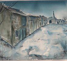 A French Lorraine Village by sandycarol