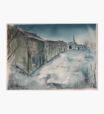 A French Lorraine Village Photographic Print