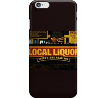 Local Liquor 1.0 iPhone Case/Skin