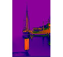 Docked At Woy Woy Photographic Print