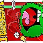 Xmas Cards 2009 - Wreath by Sketchaholic