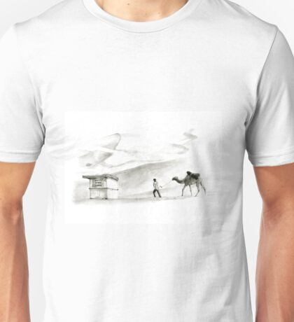 books in the desert Unisex T-Shirt