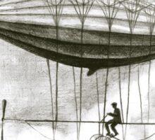 pasenger airship Sticker