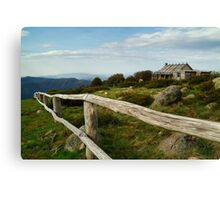Craigs Hut, Victorian High Country Canvas Print