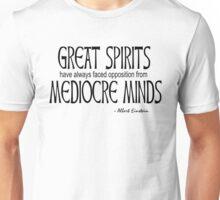 Great Spirits (black text) Unisex T-Shirt
