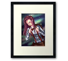 Eleventh Doctor - gender bender   Framed Print