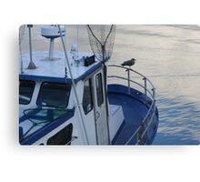 newport blue Canvas Print