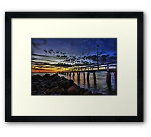 Wellington Point Framed Print