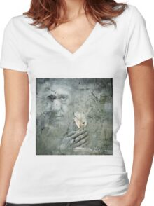 No Title 81 Women's Fitted V-Neck T-Shirt