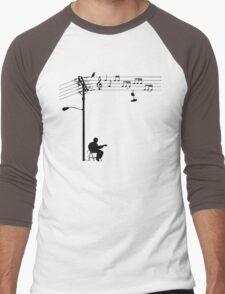 Wired Sound Men's Baseball ¾ T-Shirt