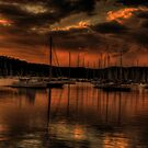 Golden Dreams - Newport, Sydney - The HDR Experience by Philip Johnson