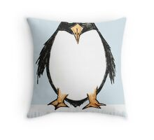 Zoology Series - Penguin Throw Pillow