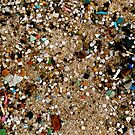 Plastic Tears in the Sand  by Jan  Postel