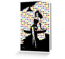 Polka Dot Siren Greeting Card