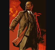 Lenin and us  - soviet union propaganda poster  Unisex T-Shirt