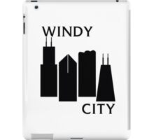 Windy City - Black Flag Logo iPad Case/Skin