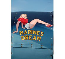 Marines Dream Photographic Print