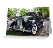 "Big Ford ""V8 Pilot"" Greeting Card"