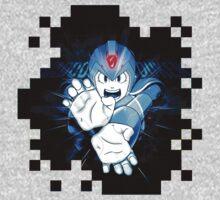Megaman X-Hadouken Kids Clothes