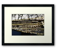 Washing Line with a Difference Framed Print