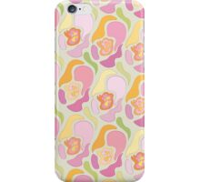 Classical floral pattern with abstract shapes. iPhone Case/Skin
