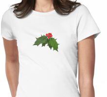 Large Holly Womens Fitted T-Shirt