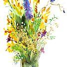 Wildflowers. by Svetlana Mikhalevich