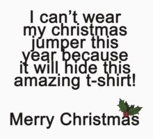 Christmas Jumper Kids Tee