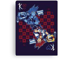 Anti-King of Hearts Canvas Print