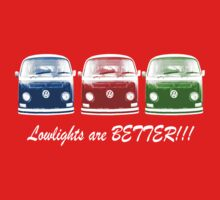 Lowlights are BETTER!! Kombi - Blue, Red, Green Kids Tee