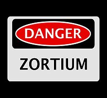 DANGER ZORTIUM FAKE ELEMENT FUNNY SAFETY SIGN SIGNAGE by DangerSigns