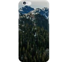 Grouse Mountain, Vancouver iPhone Case/Skin