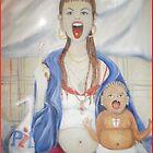 The Chav madonna #2 by Helena Wilsen - Saunders