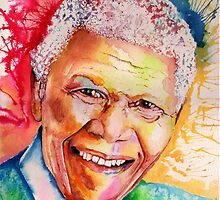 My colors for Mandela by IsabelSalvador
