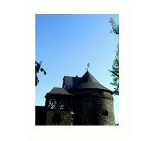 Schloss Burg Art Print