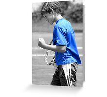 Game, Set, Match, Yeah! Greeting Card