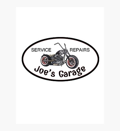 Joe's Garage Photographic Print
