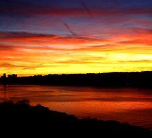 """River of Fire. by David """"Oz""""  Osterczy"""