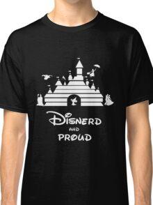 Disnerd and Proud (white) Classic T-Shirt