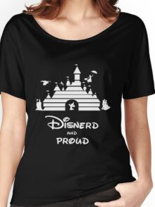Disnerd and Proud (white) Women's Relaxed Fit T-Shirt