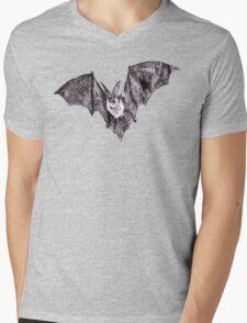 Bat Mens V-Neck T-Shirt