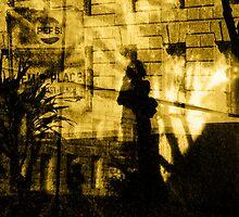 courtney's silhouette by ojoblanco