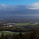 Winter Leigth Hill View Point Panoramic by Eyeswide