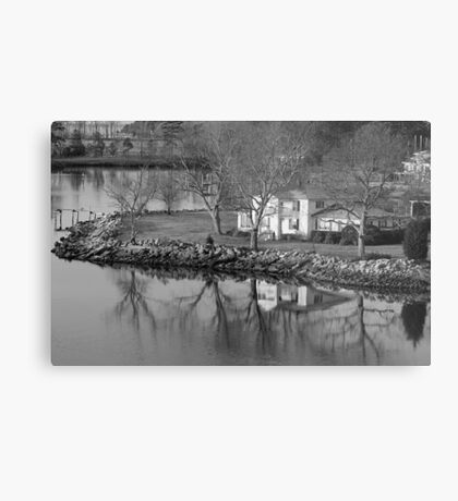 House On The Point Metal Print