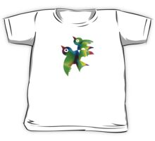 Birds - forest animals, flying, fluttering sky Kids Tee