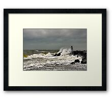 A windy day..... Framed Print