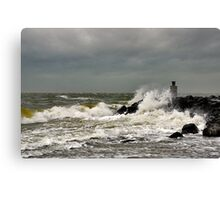 A windy day..... Canvas Print