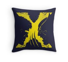 X-Mutants (Yellow) Throw Pillow