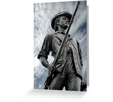 Patriot, citizen, soldier Greeting Card
