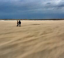 A windy beach walk by Adri  Padmos